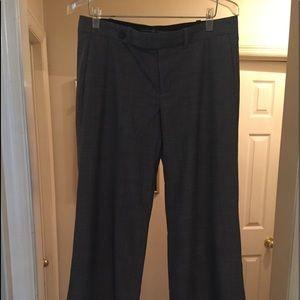 Gap Trouser, gray, 4 pockets, waistband w/loops